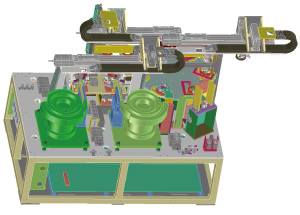 各種産業用機械・治工具の開発・設計